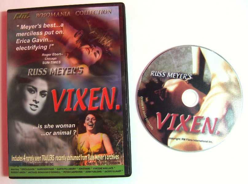 Russ Meyer's Vixen (Bosomania Collection) [DVD], Erica Gavin (Actor), Garth Pillsbury (Actor)