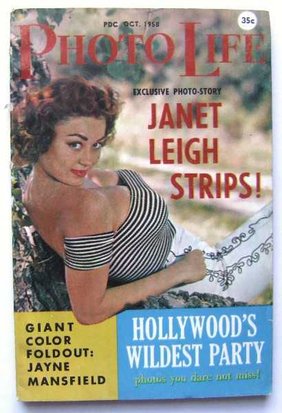 Photo Life (Volume 1, Number 1, October 1958), Janet Leigh; Jayne Mansfield