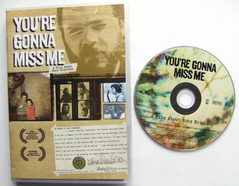 You're Gonna Miss Me : A Film About Roky Erickson [DVD]