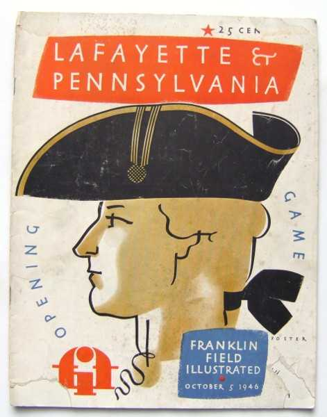 Franklin Field Illustrated (University of Pennsylvania Football Program, October 5, 1946), University of Pennsylvania