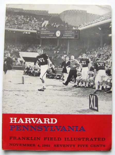 Franklin Field Illustrated (University of Pennsylvania Football Program, November 4, 1961), University of Pennsylvania