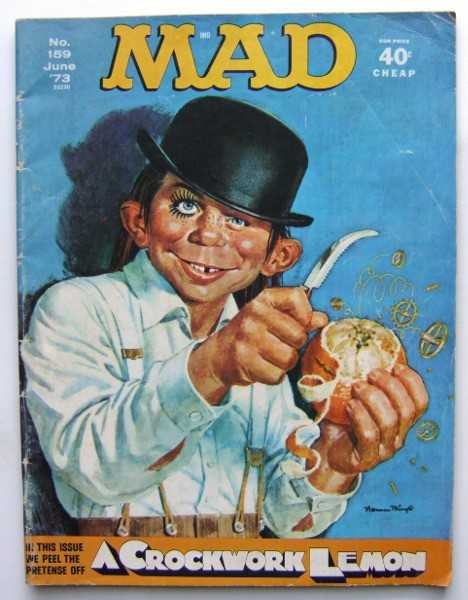 MAD Magazine, No. 159 (June, 1973), Al Feldstein (Editor); William Gaines (Publisher)