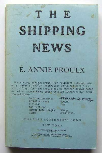 The Shipping News, Proulx, E. Annie