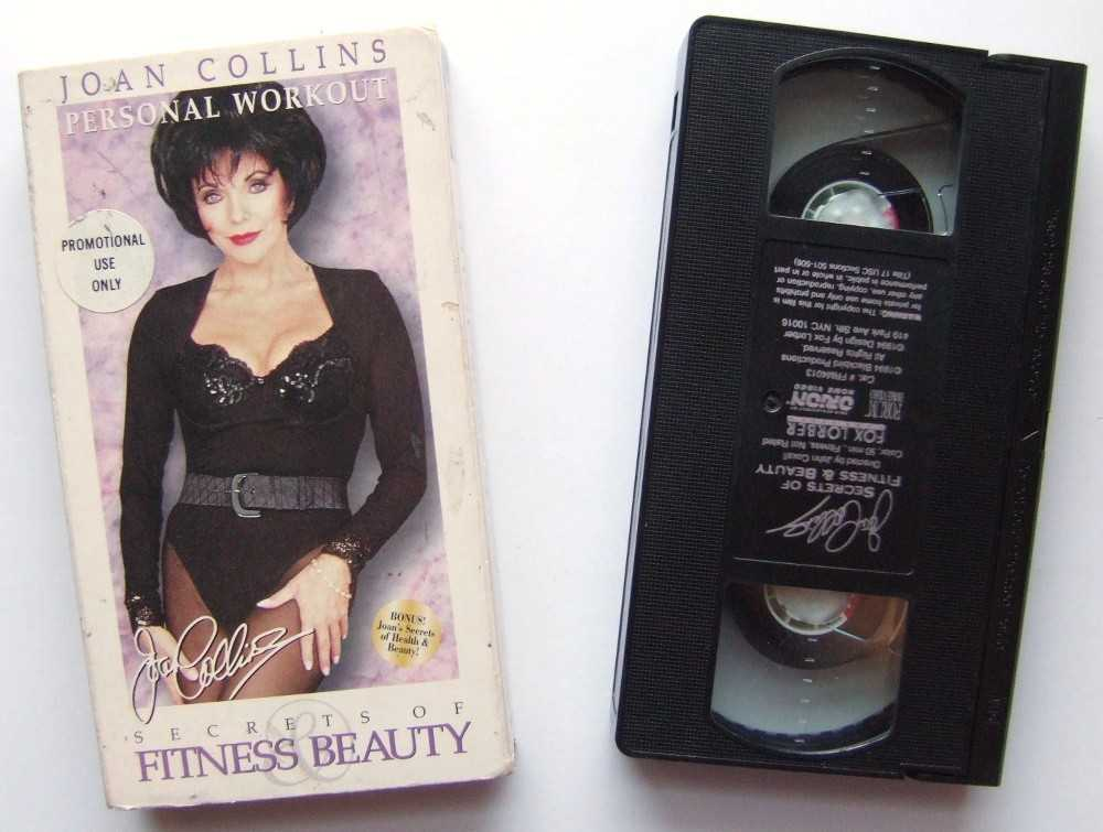 Joan Collins Personal Workout: Secrets of Fitness & Beauty [VHS]