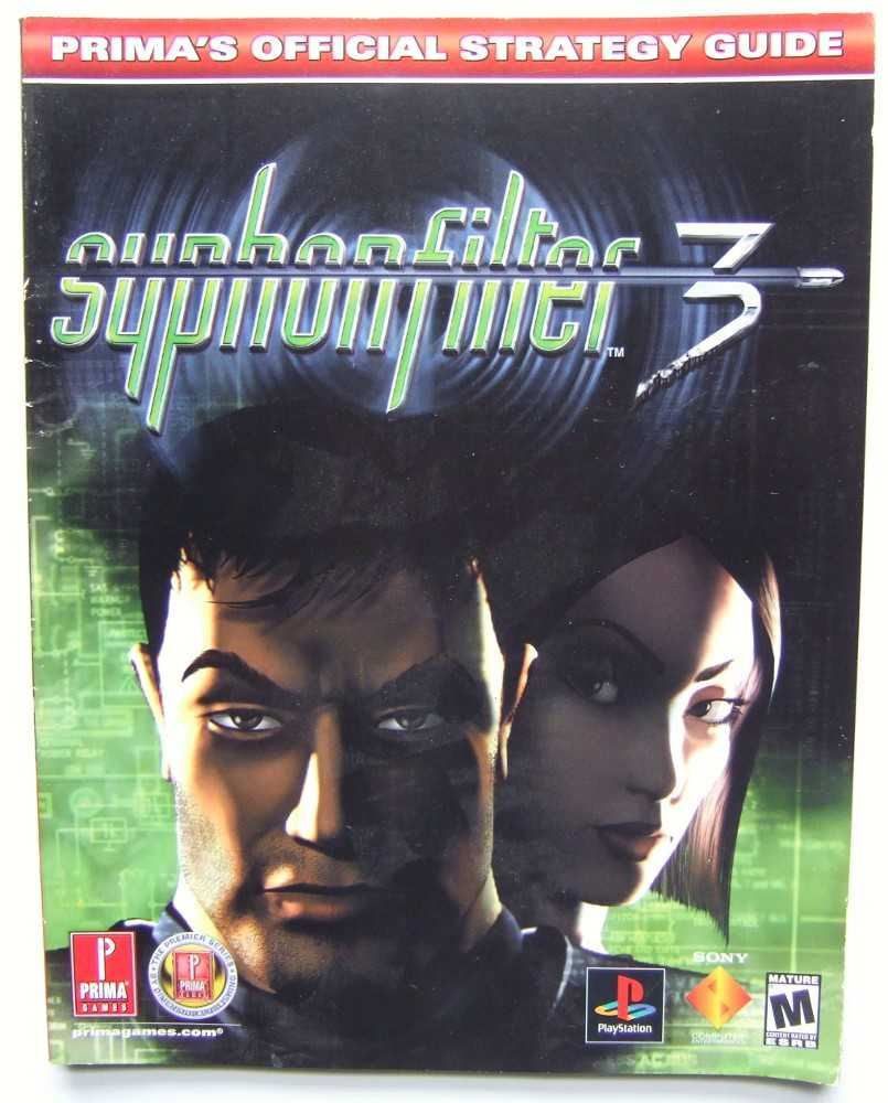 Syphon Filter 3: Prima's Official Strategy Guide