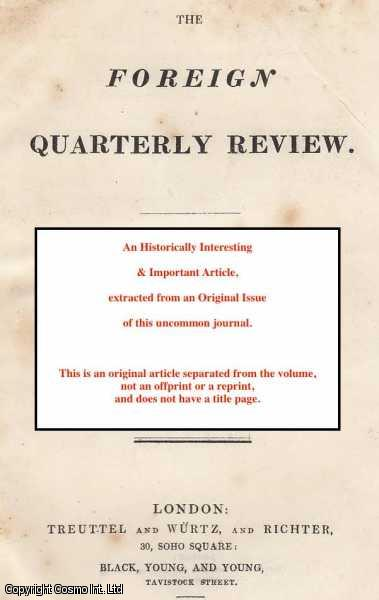 Antiquarian Research in Egypt; its Progress, Disclosures, and Prospects. A review of various works on the subject, including that of Champollion, etc., ---.