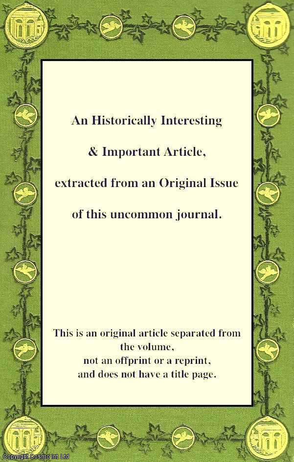 Chronology and Horology. An article from Chambers's Information for the People., Chambers, William and Robert.