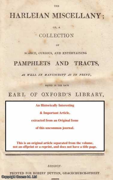 Proposals for building, in every County, a Working Alms House or Hospital, as the best Expedient to perfect the Trade and Manufactory of Linen Cloth....  (Originally printed 1677)., ---.