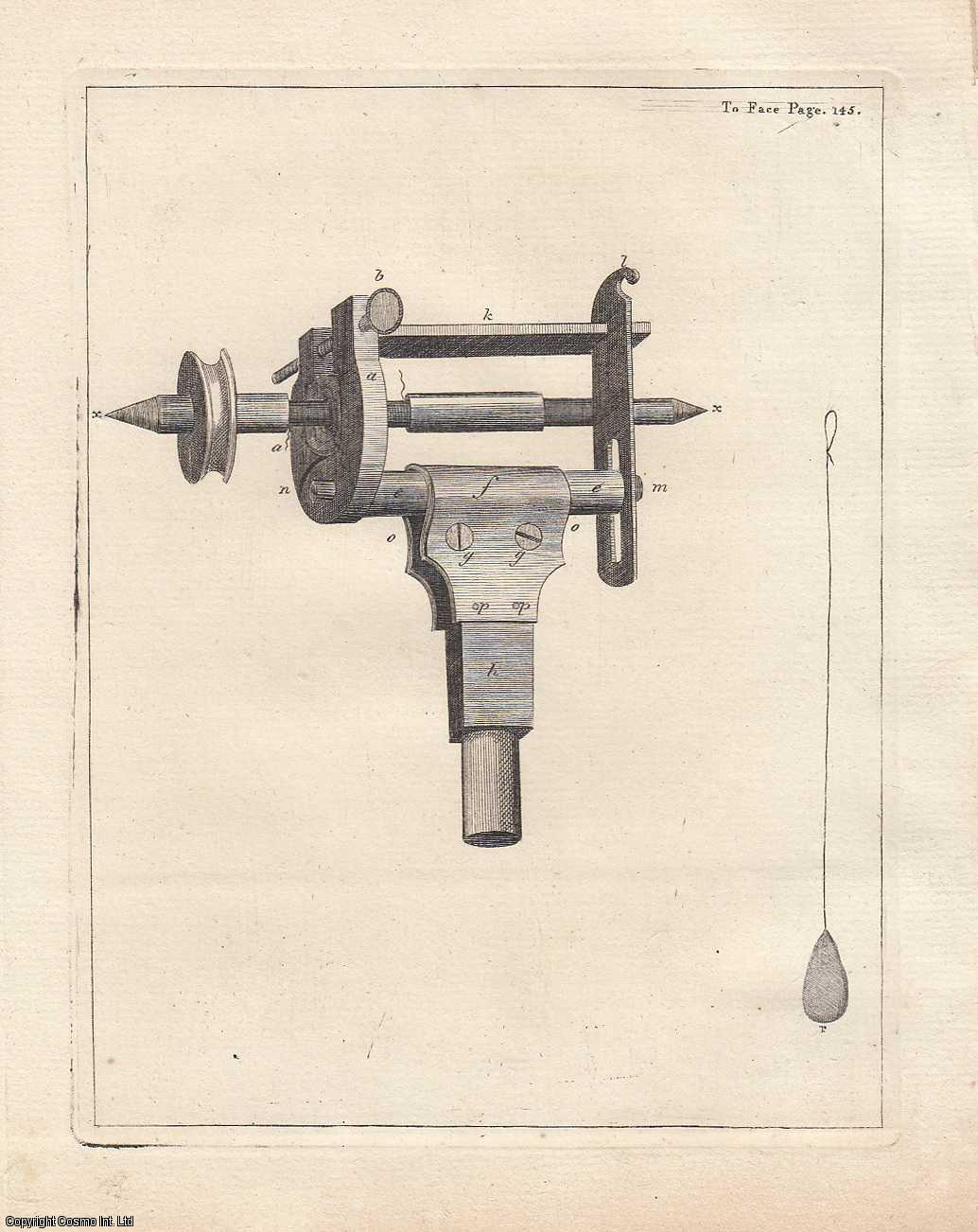 A Method of Cutting Very Fine Screws, and Screws of Two or More Threads.  From Transactions of the Royal Irish Academy., Austin, Gilbert.
