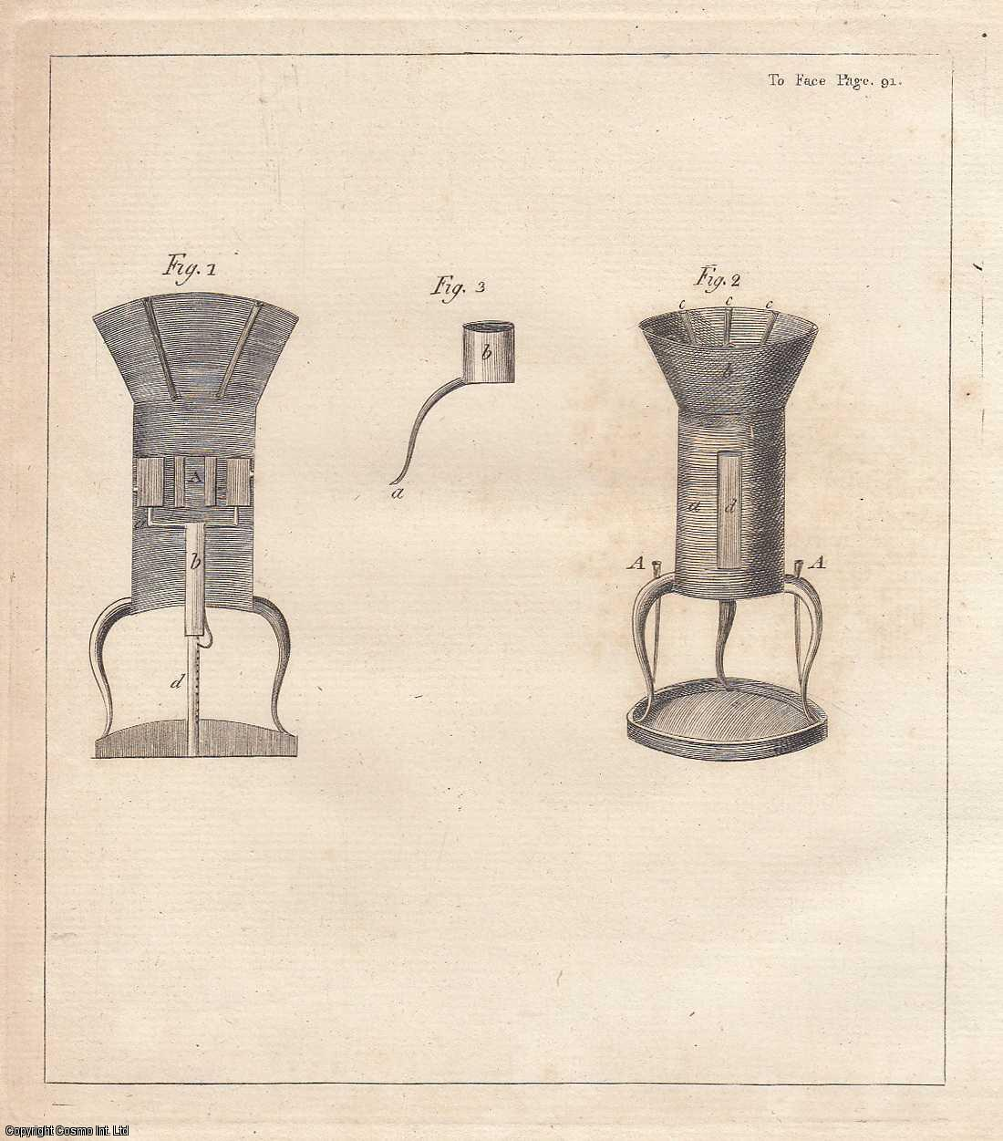Account of a Chamber Lamp Furnace.  From Transactions of the Royal Irish Academy., Perceval, Robert.