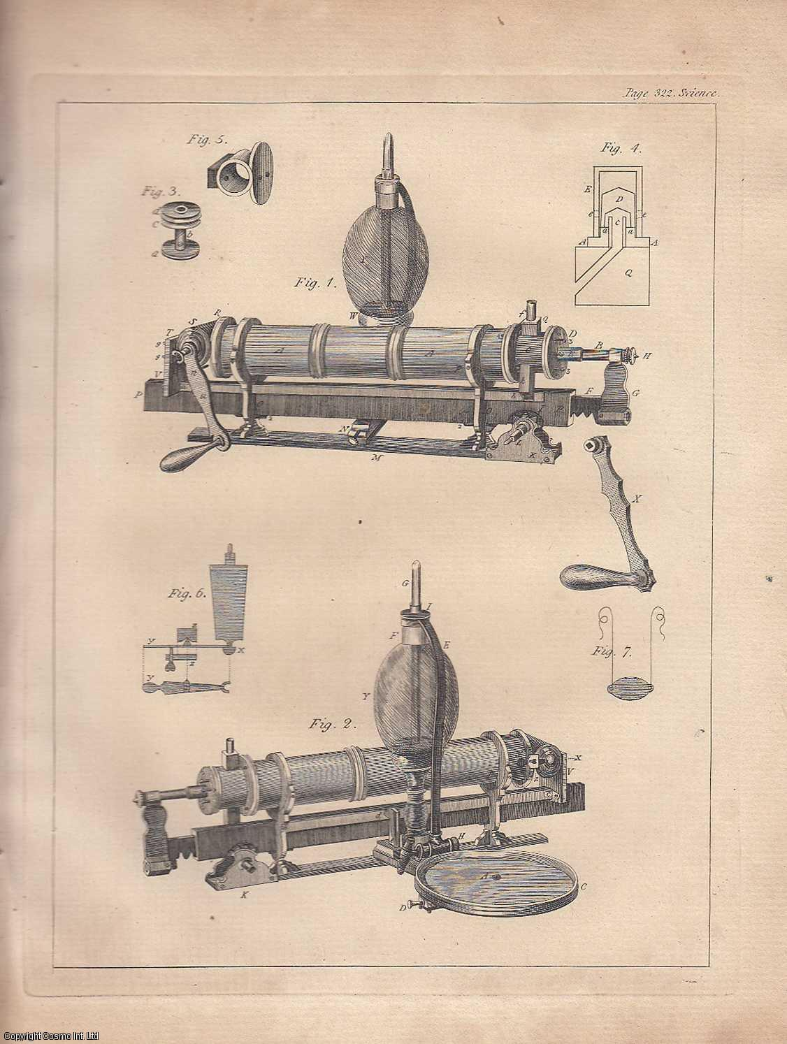 A Description of an Air-Pump of a New Construction, with an Account of its Performance, and of some Experiments and Observations tending to ascertain the Circumstances on which....  From Transactions of the Royal Irish Academy., Little, James.