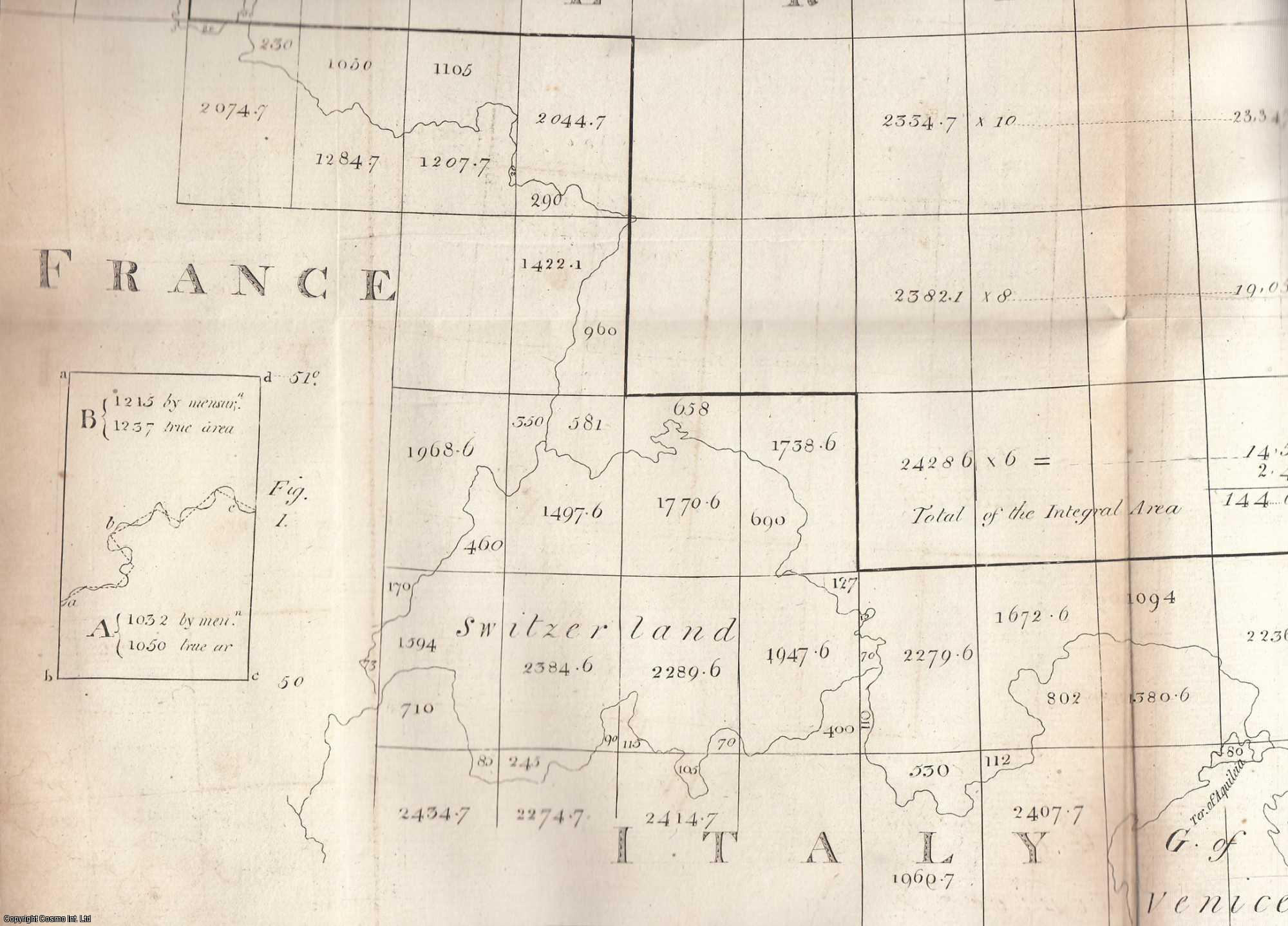 Essay on the Best Method of Ascertaining the Areas of Countries of Considerable Extent.  From Transactions of the Royal Irish Academy., Whitelaw, James