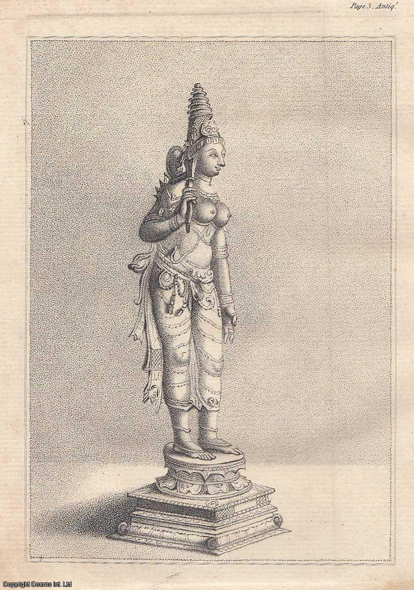 A Letter [regarding a statue taken from a Pagoda in Bangalore].  From Transactions of the Royal Irish Academy., Lennon, William Caulfield.