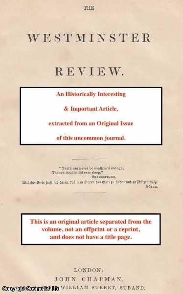 History of Civilization in England [by H. T. Buckle, Vol. I], Mark Pattison