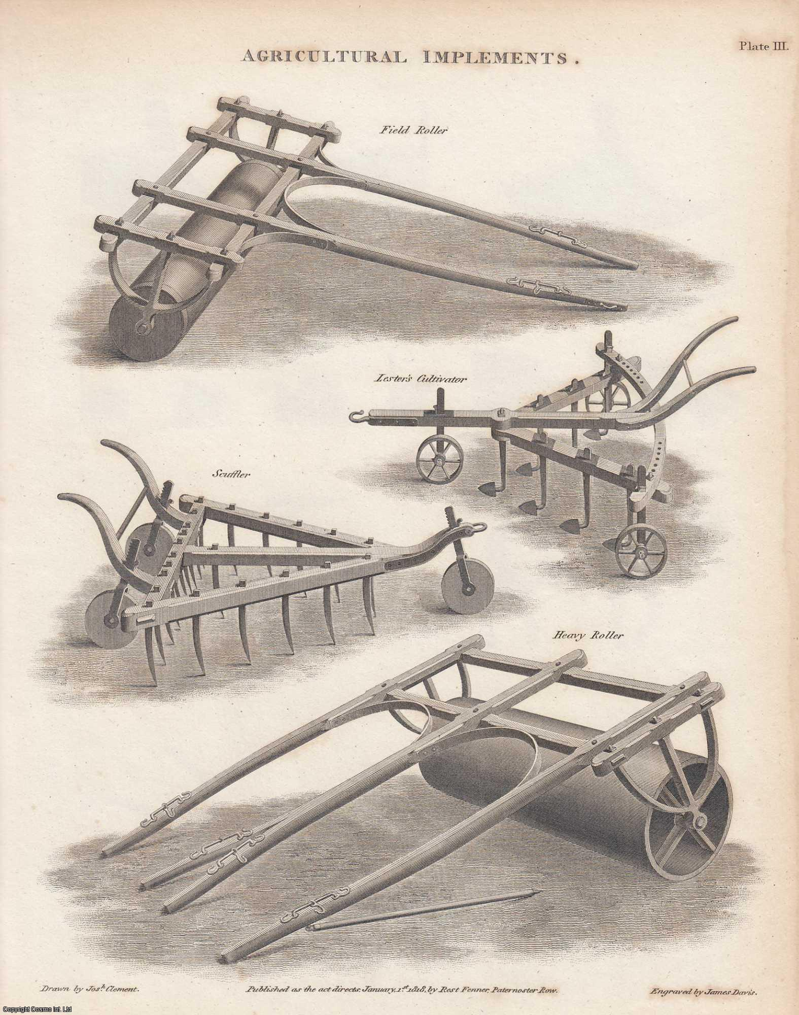 Agricultural Implements.  An Article From the Encyclopaedia Metropolitana., ---.