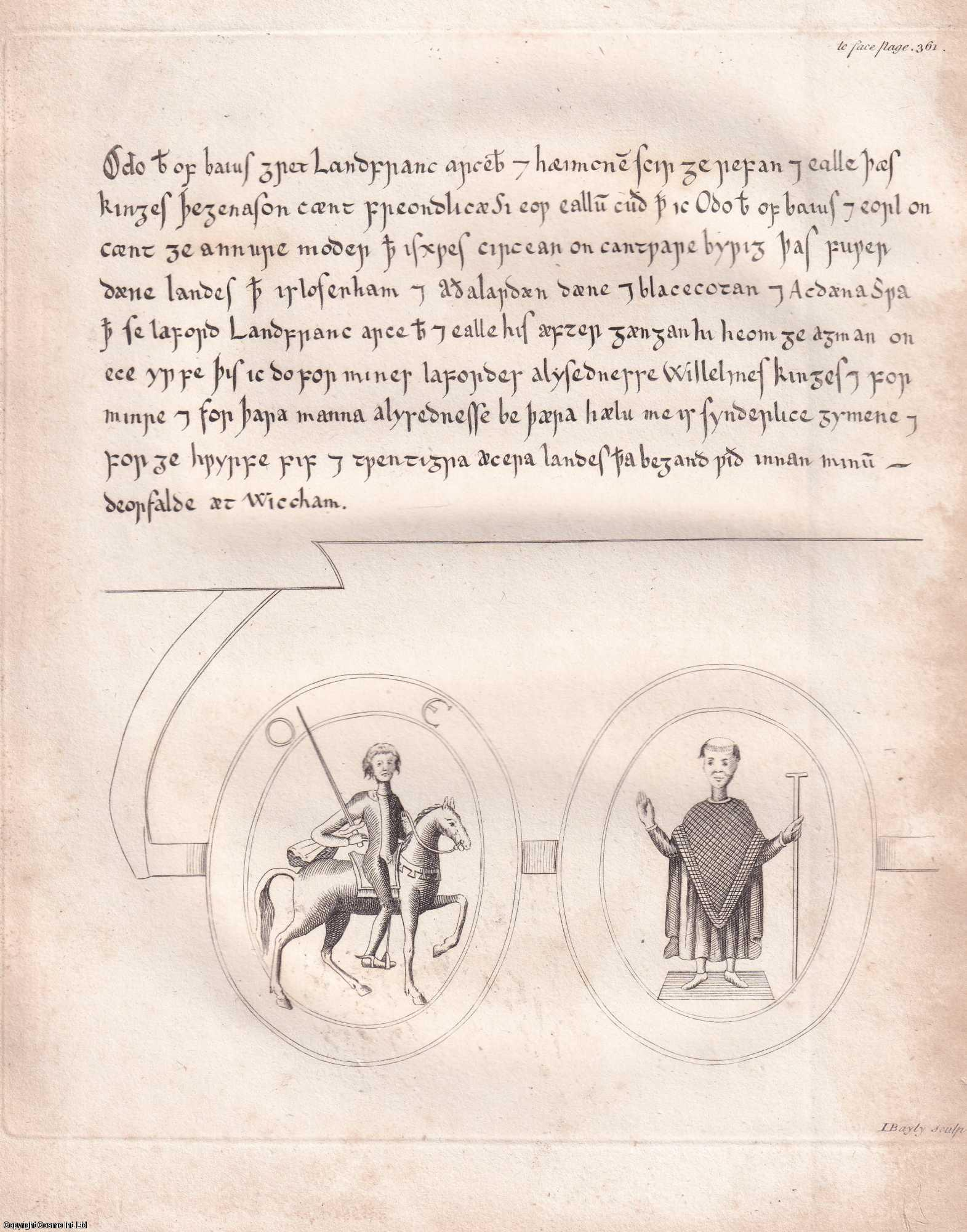 A Copy of a Deed in Latin and Saxon, of Odo, Bishop of Baieux, half Brother of William the Conqueror; with some Observations thereon., Samuel Pegge, A.M.