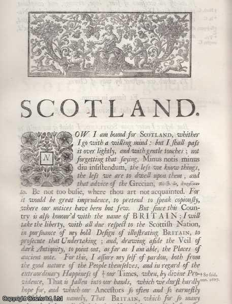 Scotland, or North Britain. From 'Britannia:or a chronographical description of Great Britain and Ireland., William Camden.