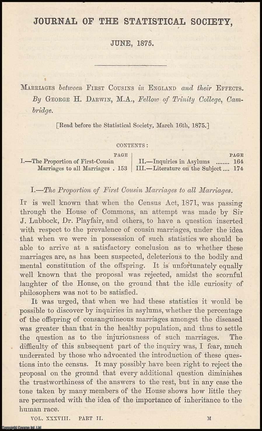 Consumption of Wine in the United Kingdom., Shaw, T.G.
