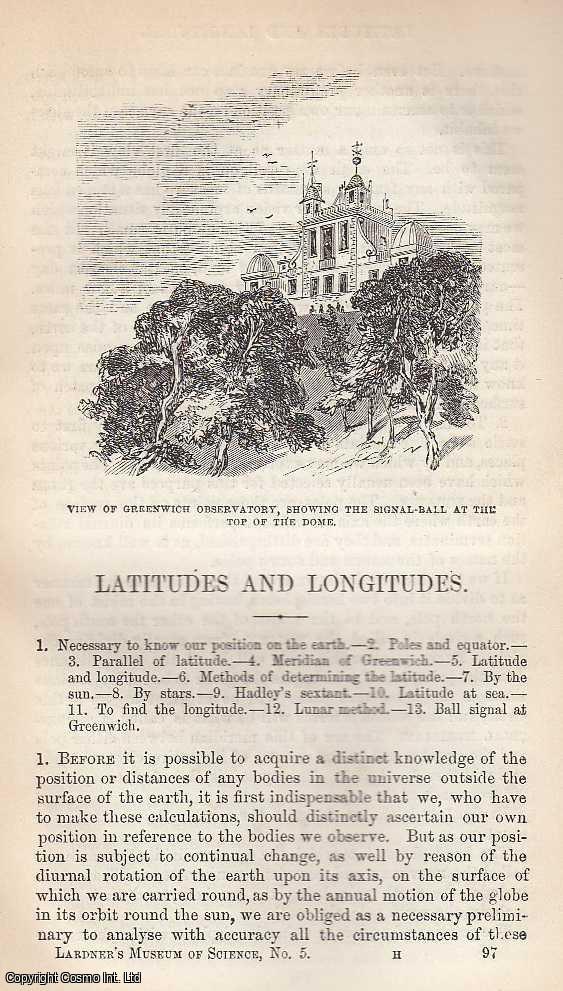Latitudes And Longitudes., Dionysius Lardner.