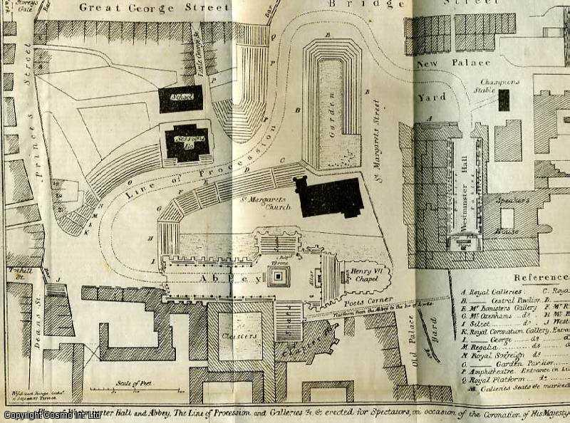 The Gentleman's Magazine for July 1821. FEATURING A Plan of Westminster Hall & Abbey, with the line of Procession., Urban, Sylvanus.