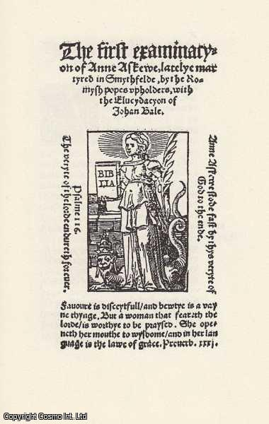 Anne Askew. The Early Modern Englishwoman: A Facsimile Library of Essential Works. Part 1: Printed Writings, 1500-1640. Volume 1., Anne Askew. Introduced by John N. King. Series Editors Betty S. Travitsky & Patrick Cullen