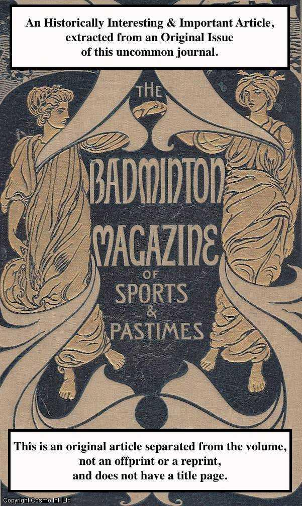 FRANCES J. ERSKINE. - On Extemporised Sleighs. A rare original article from the Badminton Magazine, 1899.