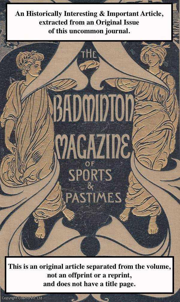 CAPTAIN W. R. BINDLOSS. - My Elephant. A rare original article from the Badminton Magazine, 1899.
