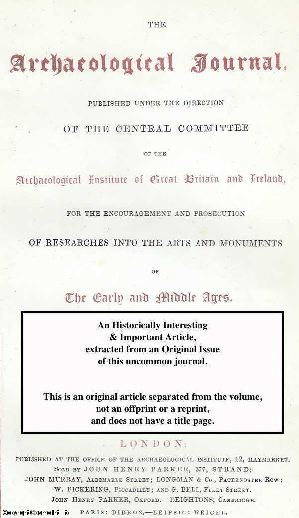 LEWIS, BUNNELL - The Antiquities of Vienne. A rare original article from the Archaeological Journal, 1894.
