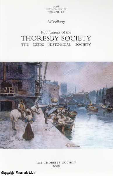 Miscellany, Volume 18., Morris, J.M. Collinson, D. Thornton, E. Bradford and P. Meredith, R.J