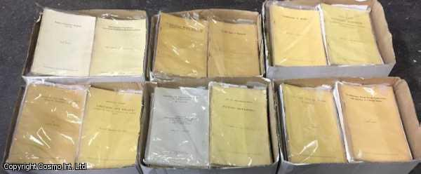 Royal Asiatic Society Offprints. 400 Title Collection. 1876 to 1990., ---.