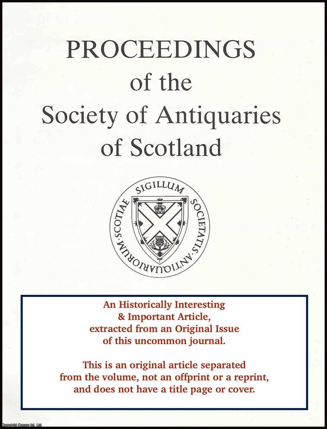 A Heraldic Panel from Aberdeen., Burnett, Charles J.