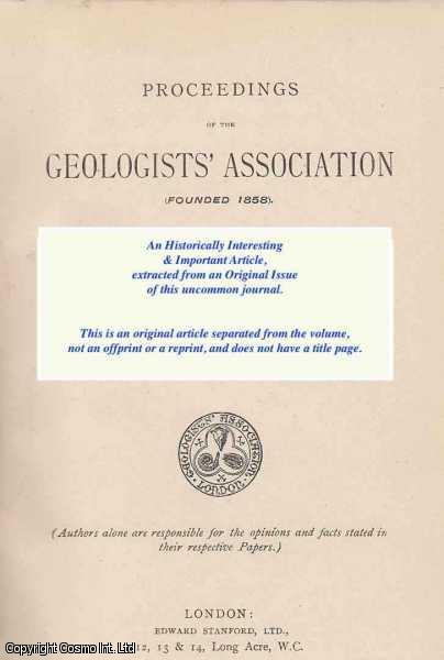 DEWEY, HENRY - Igneous Rocks from North Devon. A rare original article from the Proceedings of The Geologists' Association, 1910.