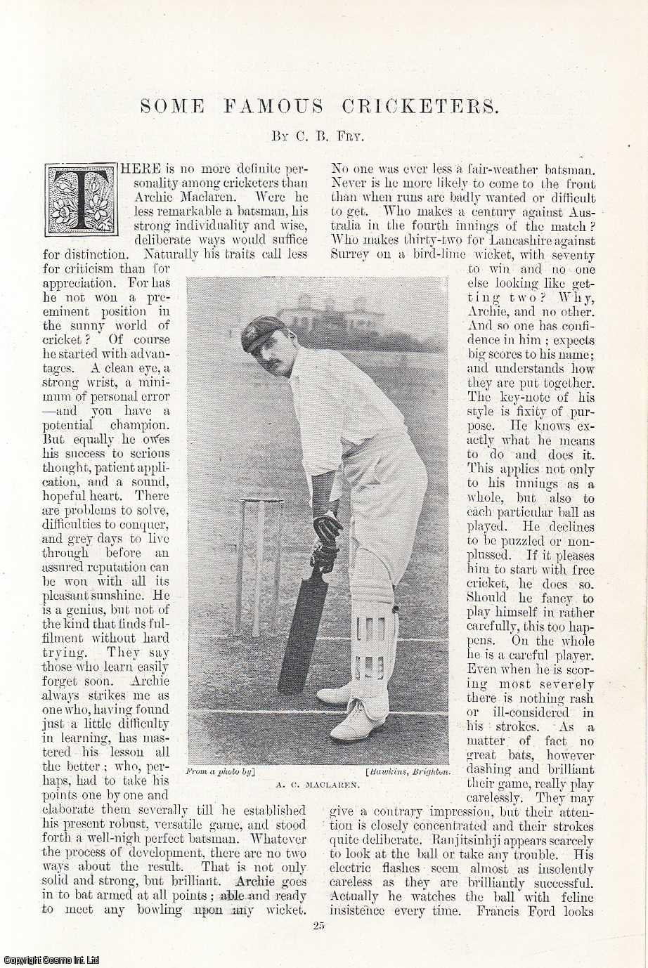 Some Famous Cricketers., Fry, C. B.