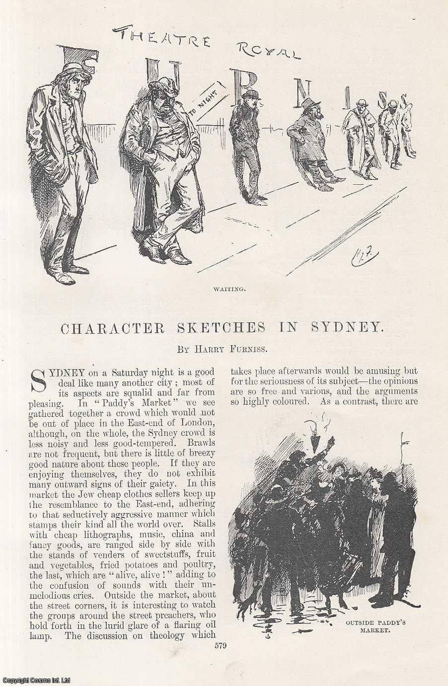 Character Sketches in Sydney., Furniss, Harry