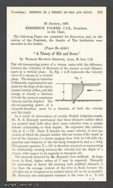 A Theory of Silt and Scour., Griffith, William Maurice