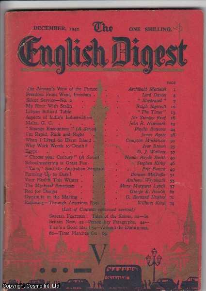 The English Digest. December 1942., ---.