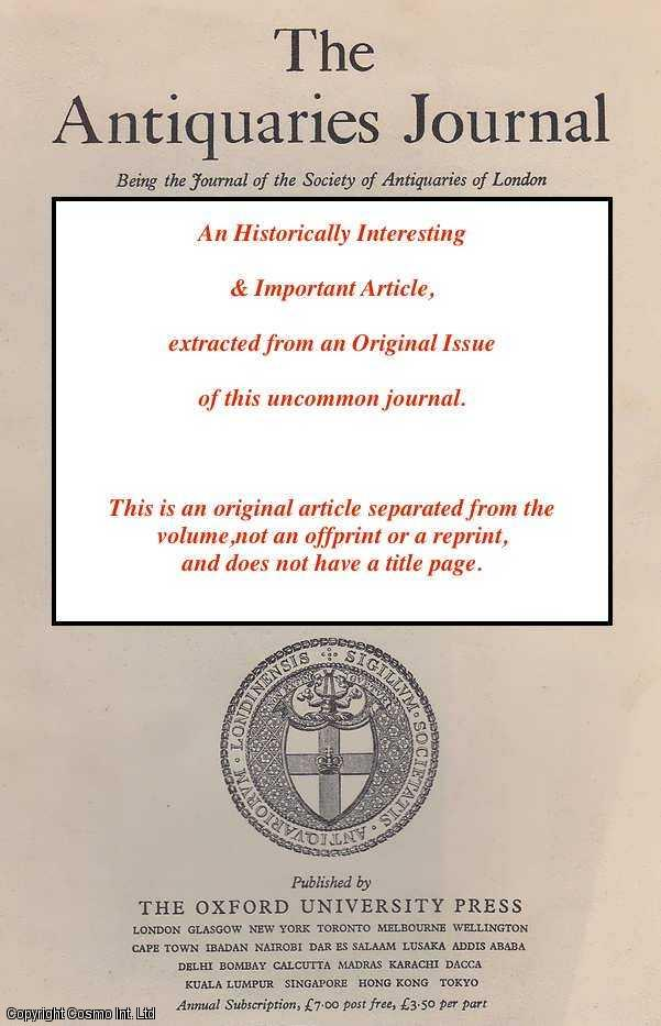 THORNTON & DAVID MITCHELL, DORA - Three Tudor Silver Dress-Hooks. An original article from the Antiquaries Journal, 2003.