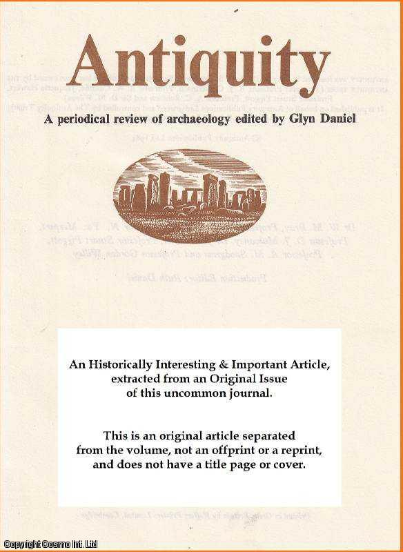 DEMARRAIS, ELIZABETH - Antiquity and the New World. An original article from the Antiquity journal, 2002.