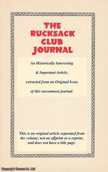 ENTWISLE, J.H. - The New Club-House (Tal-Y-Braich Uchaf). An original article from the Rucksack Club Journal, 1927.