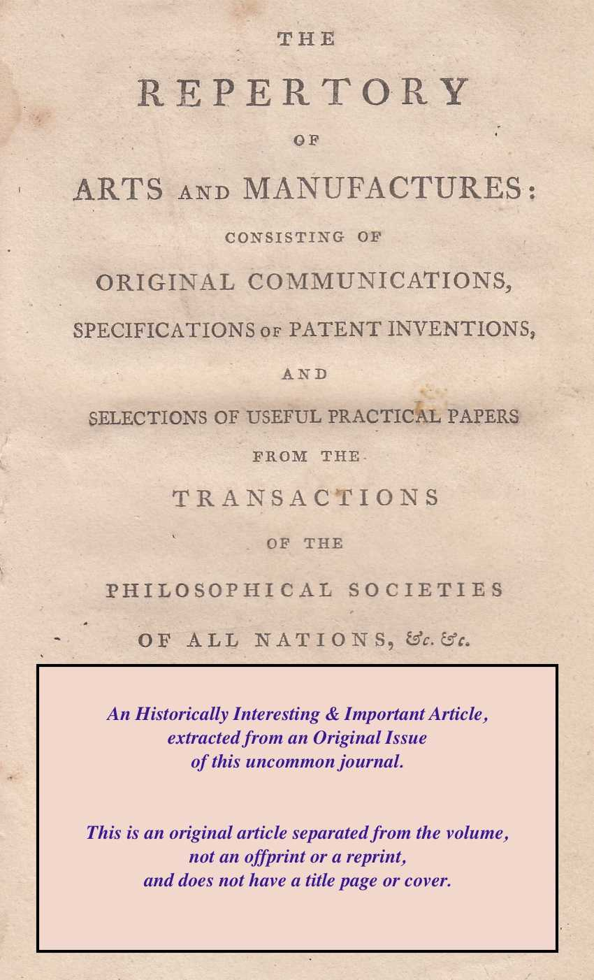 Method of easily discovering adulterated Sugar., Tissier, Junior, M.