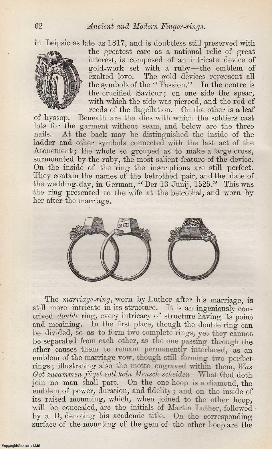Ancient and Modern Finger-Rings., Humphreys, H. Noel