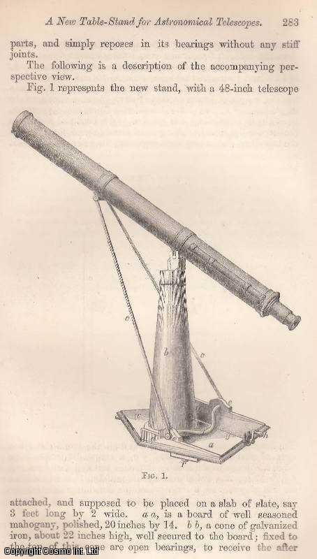 A New Table-Stand for Astronomical Telescopes., Berthon, Rev. E.L.