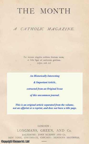 COWELL, EDITH - The Psychological Value of Historical Traditions. An original article from The Month magazine, 1919.