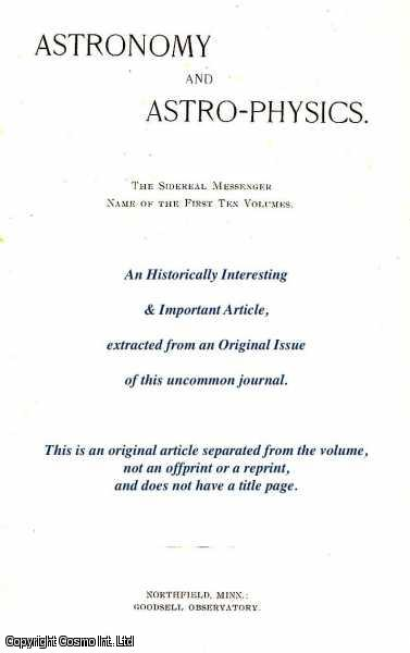 Differential Gravity Meters., Payne & George E. Hale, Edited by W.W.