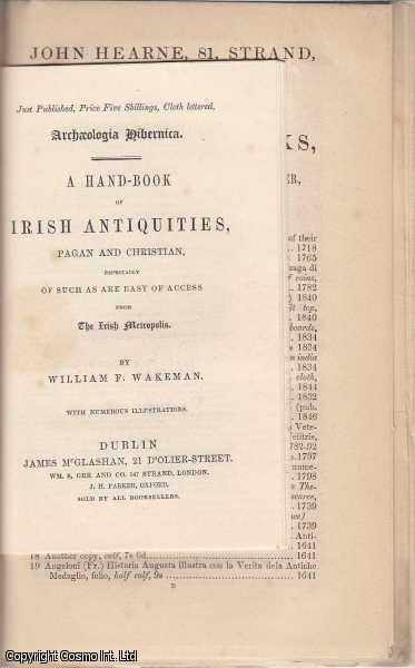 Booksellers Catalogues. An interesting collection of six original catalogues released in 1847, with sample pages, advert sheets, and other material. Includes catalogues by John Russell Smith, George Bell, James Newman, William Heath, George Willis, & John Hearne., ---.