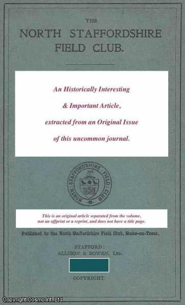 The Early History of Field Botany in Staffordshire, 1597-1839., Edees, E.S.