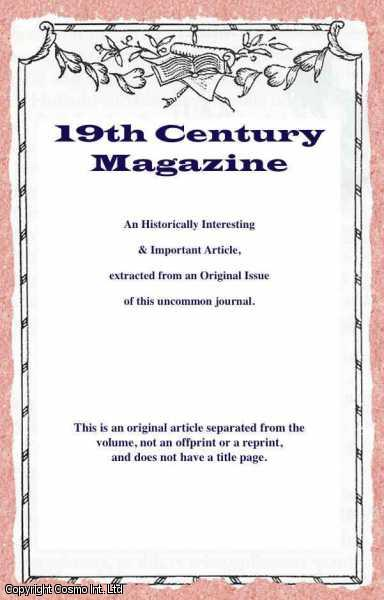 ELTZBACHER, O. - Our Unready Army and Some Historic Parallels. A rare original article from the Nineteenth Century Magazine, 1902.