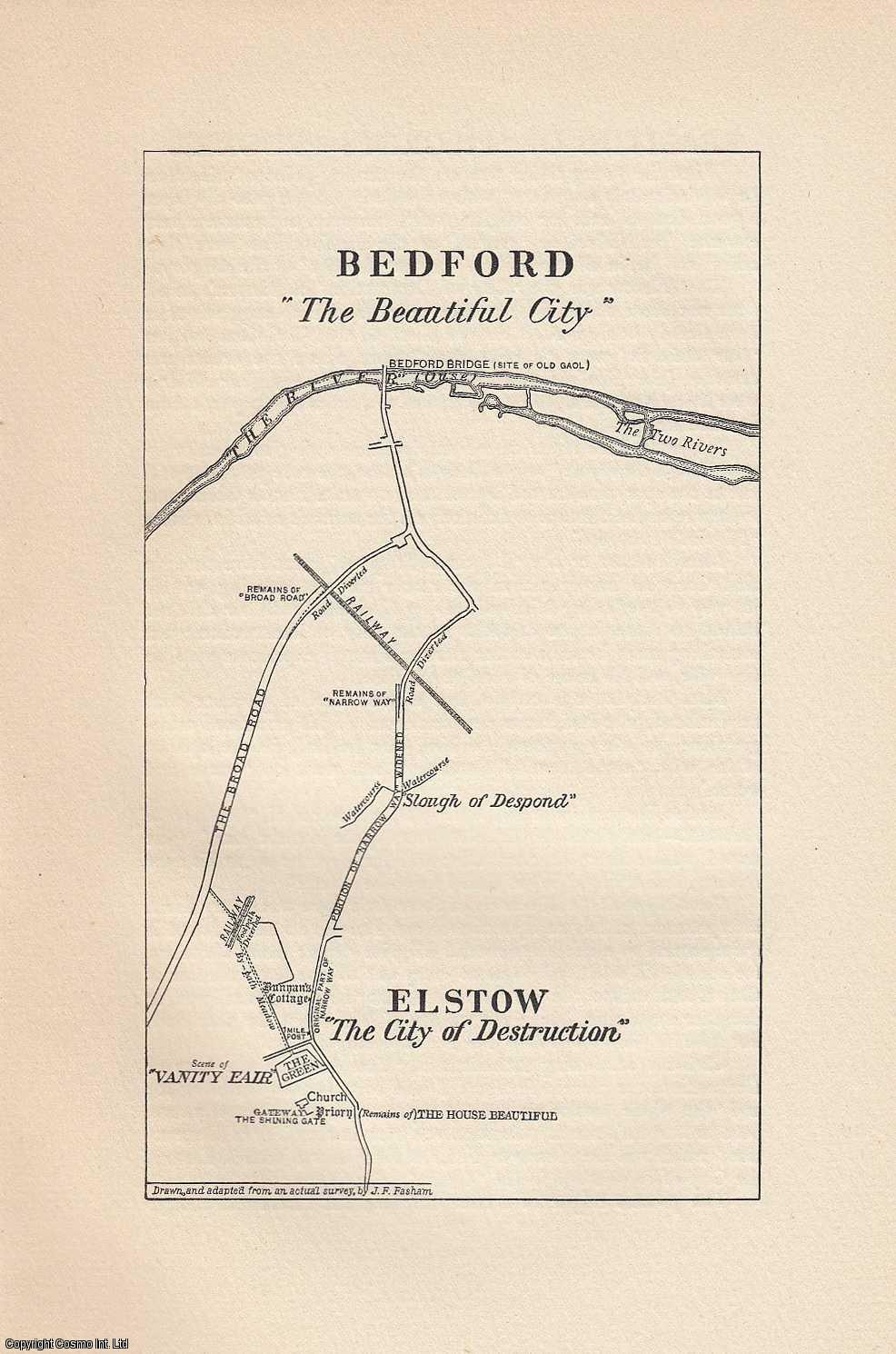 Some Realities of the Pilgrim's Progress. With a plan of Bedford & Elstow., Fasham, James F.