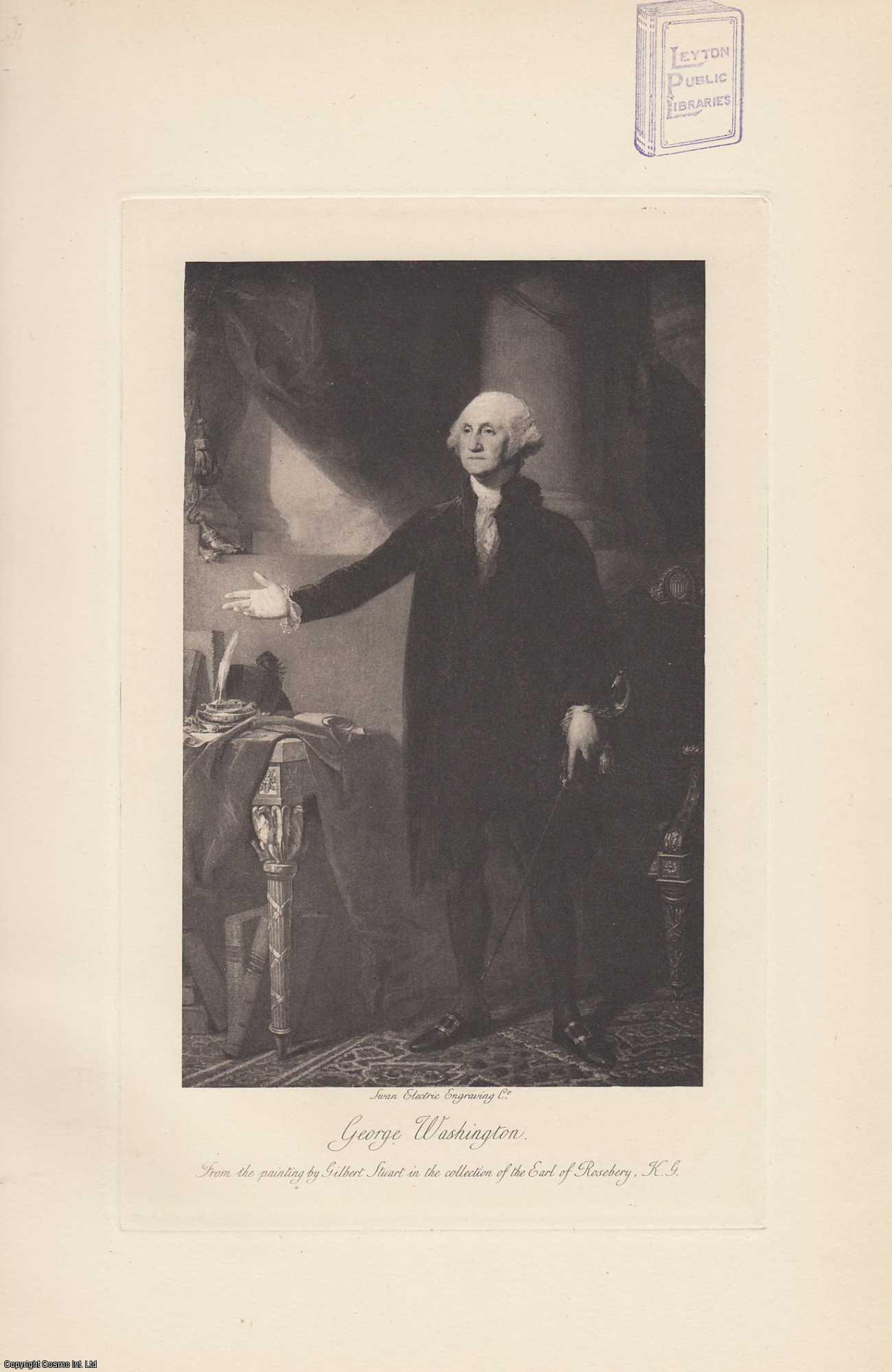 PORTRAIT. George Washington. From the painting by Gilbert Stuart., ---.