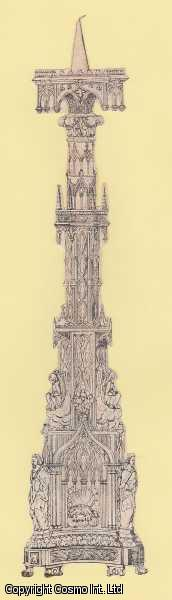 SCRAP.  An interesting undated paper scrap featuring a piece of Victorian Gothic style ornament., ---